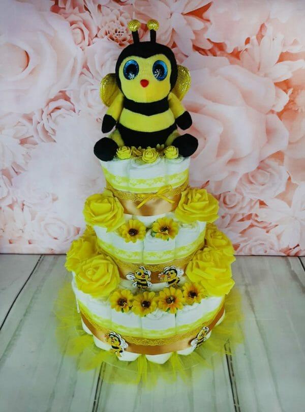 kollane mähkmetort mesilasega 5jpg