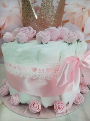roosa pisike mähkmetort krooniga 2