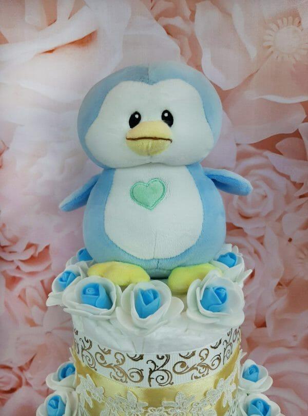 sinine mähkmetort pingviiniga 1