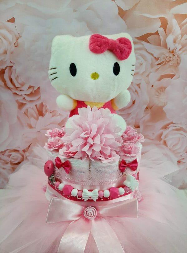 Roosa Mähkmetort Hello Kittyga 2