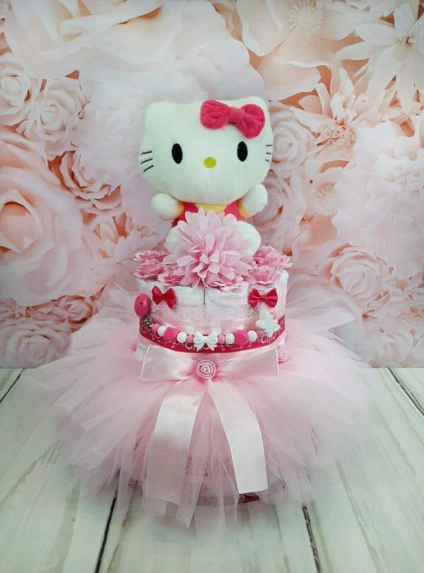 Roosa Mähkmetort Hello Kittyga 4
