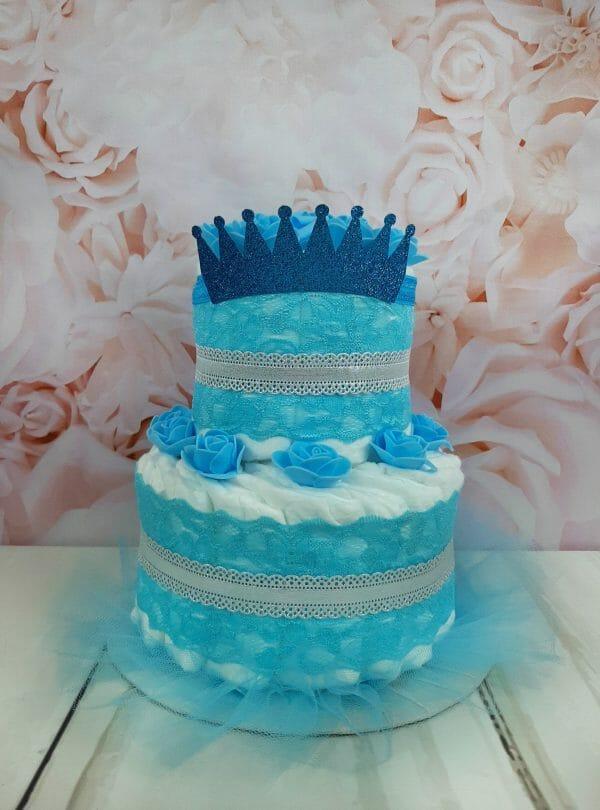 sinine mähkmetort krooniga 1