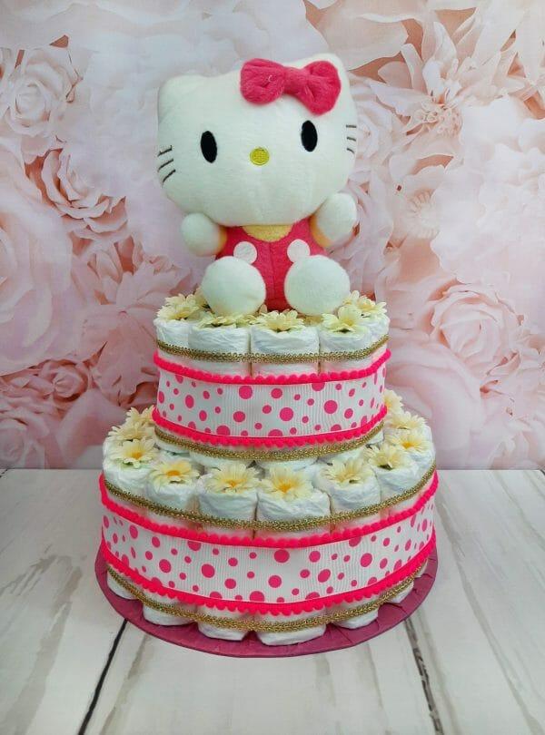 Erkroosa mähkmetort Hello Kitty