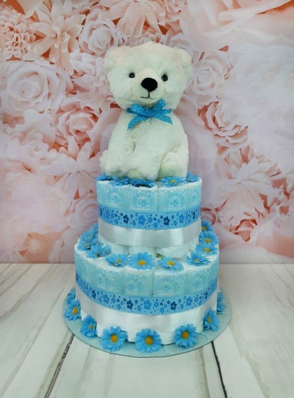 sinine mähkmetort jääkaruga