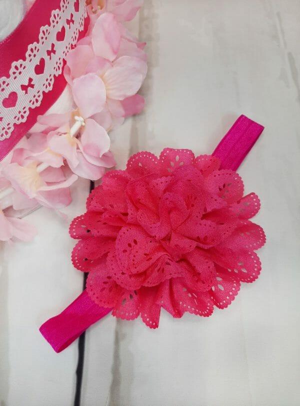 roosa väike mähkmetort peapaelaga 1