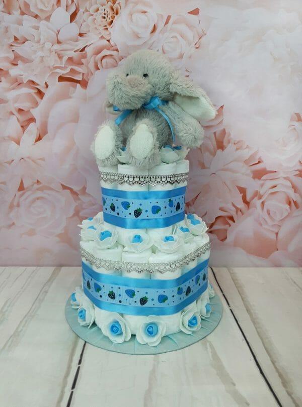 sinine väike mähkmetort elevandiga 2